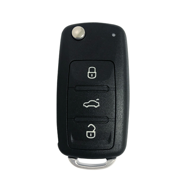 2010-2012 VW AD/N Chiave normale 3 Button 434MHz Car key for Volkswagen